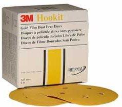 3M Hookit Gold Film Dust Free Disc 255L 5 inch 220 grit 01062