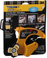 3M M3000 Hand-Masker Pre-Assembled Masking Film Tape Kit