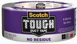 "3M No-Res Duct Tape 188"" x 20 Yd"