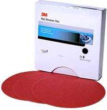 3M Red Abrasive Stikit Disc