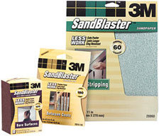 3M SandBlaster Sanding Sponges & Pads