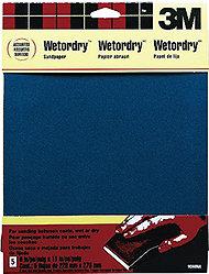 3M Sandpaper Wet/Dry 400 (5)