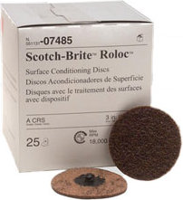 "3M Scotch-Brite Surface Roloc Disc - 3"" Coarse 50Pk"