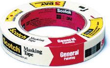 "3M Scotch General Painting Masking Tape #2050 - 3/4"""