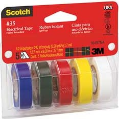 3M Scotch Professional Quality Electrical Tape