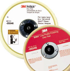 "3M Soft Disc Pad - Low Profile 6"""