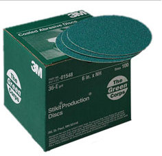 3M Stikit Green Corps Resin Bond Discs