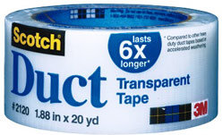 3M Transparent Duct Tape 20yd