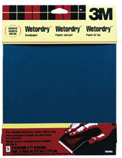 3M WetOrDry Finishing Sandpaper
