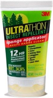 3M Sponge-Top Insect Repellent - 34 Percent DEET - 1.5 oz.