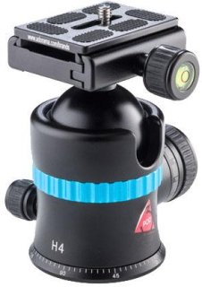 3Pod 3-Pod H4 Magnesium BallHead with Quick Release Plate Supports 33 Lbs.