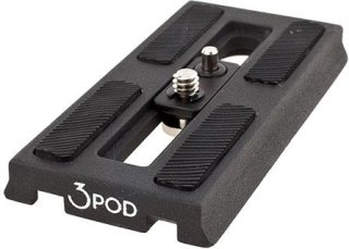 3Pod Spare/Replacement Tripod Plate fits 3Pod Video Tripod V3AH