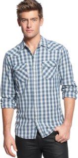 3rd & Army Amigo Herringbone Plaid Shirt
