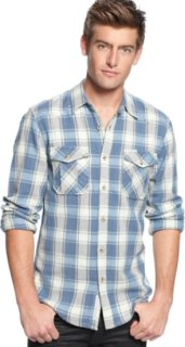 3rd & Army Brownsville Herringbone Plaid Shirt