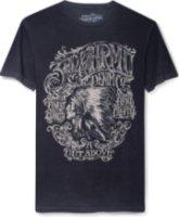 3rd & Army Crazy Horse Dead Wash Screen Print T-Shirt