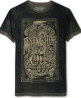 3rd & Army Gentlemen's Liquor Dead Wash Screen Print T-Shirt