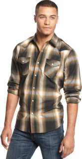 3rd & Army Long-Sleeve Plaid Button-Down