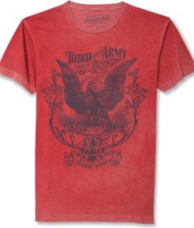 3rd & Army Short-Sleeve Eagle Graphic T-Shirt