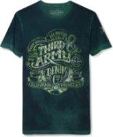 3rd & Army Snake Oil Dead Wash Screen Print Short Sleeve Shirt