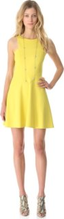 4.collective Ponte Sleeveless Flirty Dress