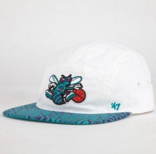 '47 Brand Hornets Freddie 5 Panel Hat