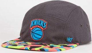'47 Brand Knicks Party Camo 5 Panel Hat