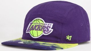 '47 Brand Lakers Windmill 5 Panel Hat