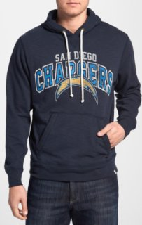 '47 Brand Slugger - San Diego Chargers Hoodie Fall Navy X-Large