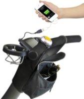 4moms Origami Bag & Phone Charger - Black
