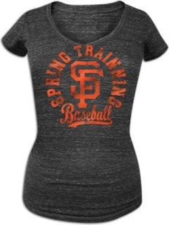 5th & Ocean MLB Metallic Foil V-Neck T-Shirt