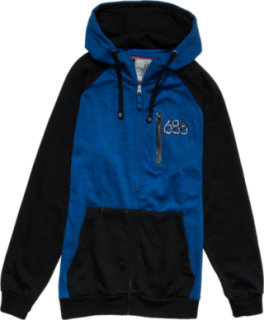 686 Cross-Dye Premium Full-Zip Hoodie