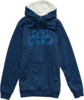 686 Icon Premium Sherpa Full-Zip Hoodie