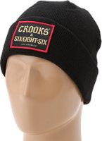 686 LTD Crooks & Castles Patch Beanie