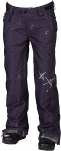 686 LTD Patchwork Denim Insulated Snowboard Pant