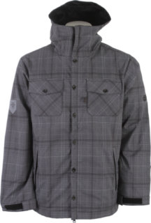686 Plexus Lumber Softshell Grey Plaid