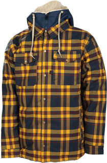 686 Reserved Axxe Insulated Flannel Jacket