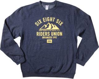 686 Rock Mountain Crew Sweatshirt