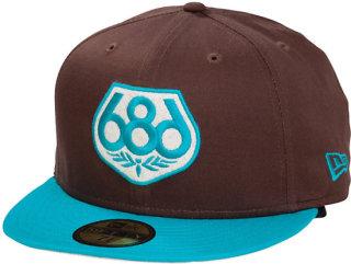 686 Two Tone Wreath Baseball Hat