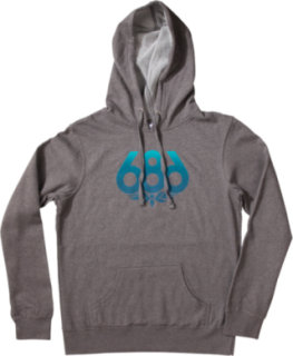 686 Wreath Fade Pullover Hoodie