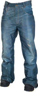 686 Reserved Destructed Denim Insulated Pant