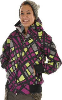 686 Plexus Oasis Softshell Snowboard Jacket Orchid