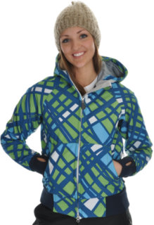 686 Plexus Oasis Softshell Snowboard Jacket Lime
