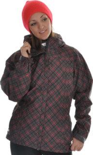 686 Smarty Atrium Snowboard Jacket Gunmetal Print