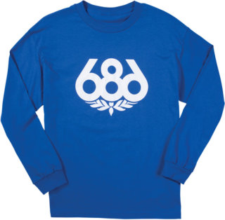 686 Wreath T-Shirt - Long-Sleeve