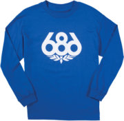 686 Wreath T-Shirt - Long-Sleeve