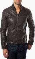 7 Diamonds Siata Leather Moto Jacket
