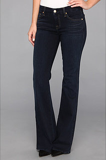 """7 For All Mankind """"A"""" Pocket Flare in Slim Illusion Red Cast"""