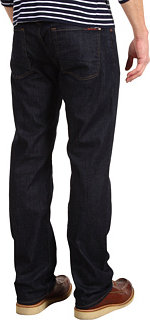 "7 For All Mankind Austyn Relaxed Straight 34"" in Dark and Clean"