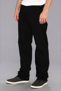 7 For All Mankind Austyn Relaxed Straight in Black Out