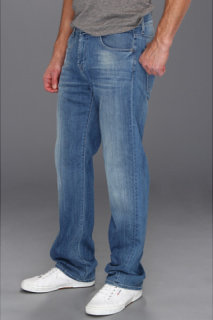 7 For All Mankind Austyn Relaxed Straight in Washed Out